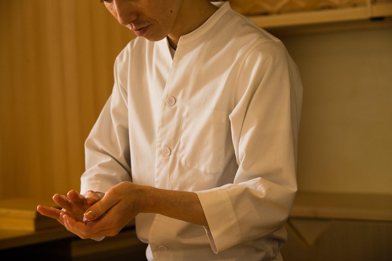 Sushi Sugaya cuisine #1