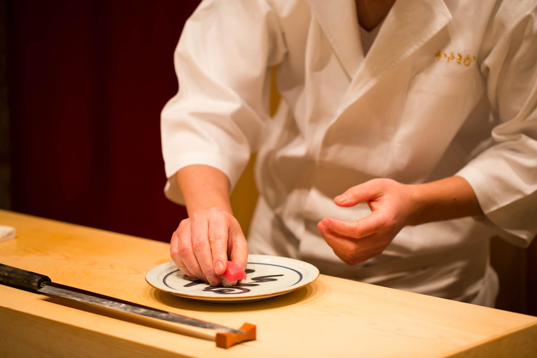 Ginza Sushi Kanesaka cuisine #1